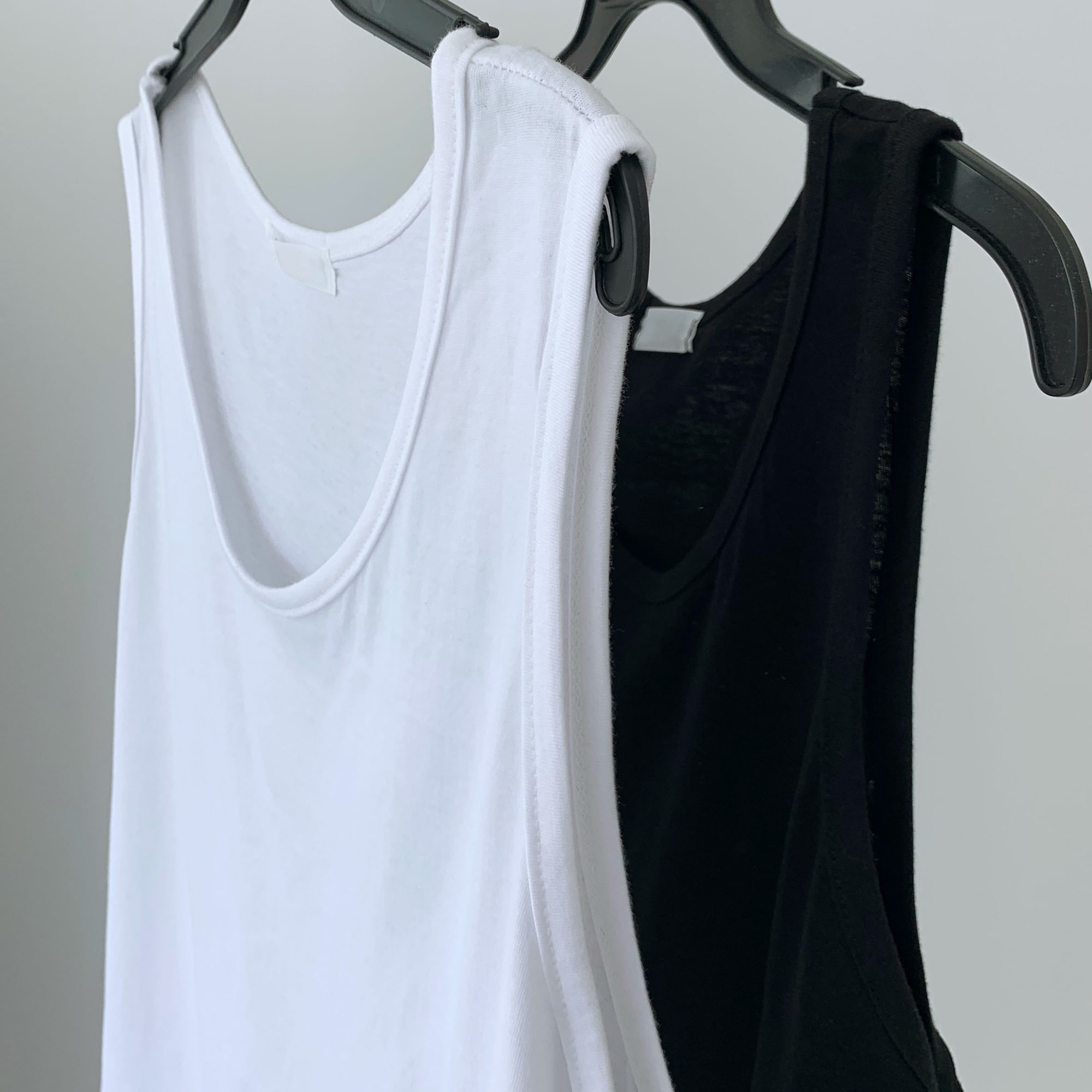 Long Layered Sleeveless (2Color)