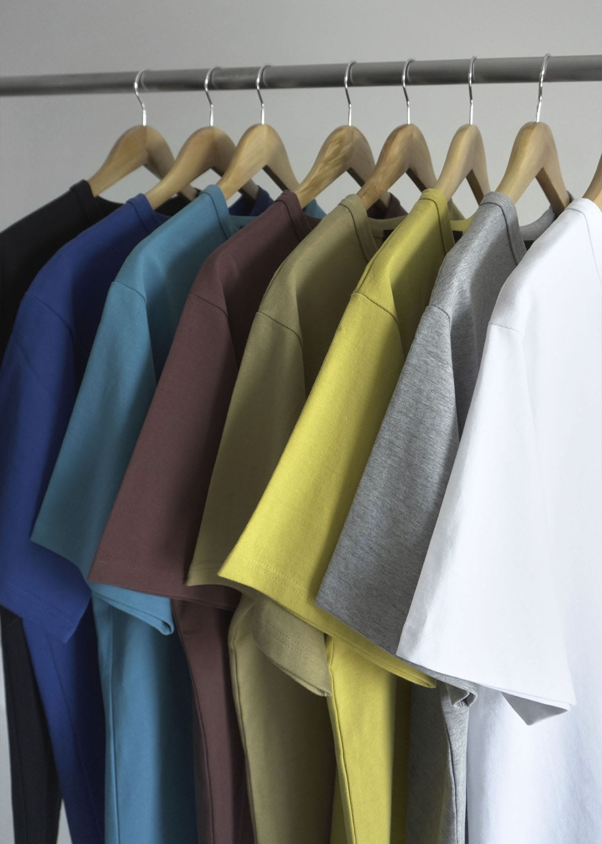 Basic Over Hard Cotton T-shirts (8Color)
